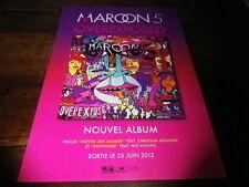 MAROON 5 - Publicité de magazine / Advert OVEREXPOSED !!!!!!!!!
