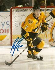 Brandon Wheat Kings Ryan Pulock Autographed Signed 8x10 Photo COA TWO
