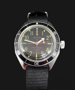 Watch Vostok Amfibian Vintage Diver USSR Vintage Soviet Mechanical 200m.