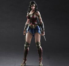 Play Arts Kai Wonder Woman Action Figure Dawn Of Justice Toy Doll Model