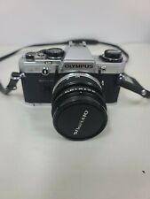 Olympus Om-10 35mm Slr Film Camera with 50 mm Lens + Cover Case