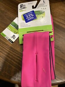 FlipBelt Classic Edition Running Belt Size Large Pink L NEW