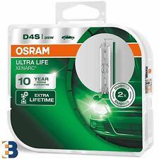 2x D4S OSRAM XENARC ULTRA LIFE 66440 ULT-BCO XENON HID AUTO LAMPADINA DEL FARO Duobox