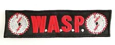 W.A.S.P.  (  LOGO ) EMBROIDERED  PATCH