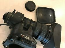 Fuji 15x broadcast zoom lens and zoom demand