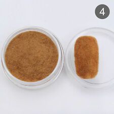 Fuzzy Flocking Velvet Nail Art Powder Dust Manicure Decoration Tips Brown Color