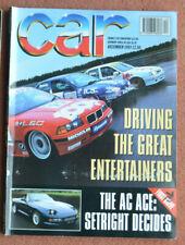 Car magazine December 1993 Porsche 968,Tatra 613/5,Mazda RX-7 vCS v Renault A610