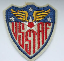 British made   cotton felt  USSTAF  US   Air Force cloth patch
