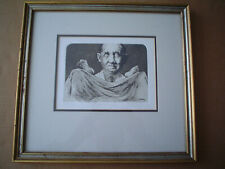 """CHARLES BRAGG - Original Etching """"The Gynecologist"""" - Pencil S & N - Nice Frame"""