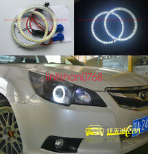 2x SMD 7000K Angel Eyes kit Halo Rings For Subaru Impreza WRX STI 2007-2011
