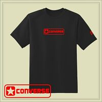 Men's CONVERSE T-shirt. Logo on the front and small logo on the left sleeve