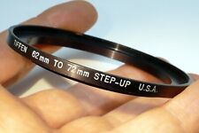 62mm to 72mm lens ring step Up threaded male to female thin profile wide angle