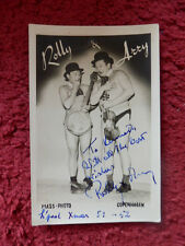 MIME ARTIST ROLLY AND ARRY AUTOGRAPHED PHOTO