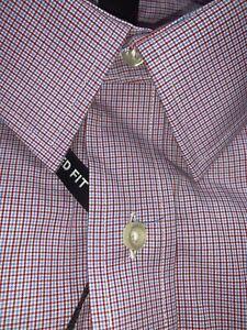 NEW Men's Kirkland Signature Dress Long Sleeve Shirts Tailored Point Collar