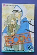 B.O.D.Y BODY Volume 2 English Manga Graphic Books Novels Ao Mimori
