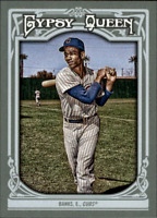 2013 Topps Gypsy Queen Baseball #200 Ernie Banks Chicago Cubs