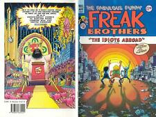 FREAK BROTHERS in THE IDIOTS ABROAD, Part 3, 1897, KNOCKABOUT COMICS - as NEW