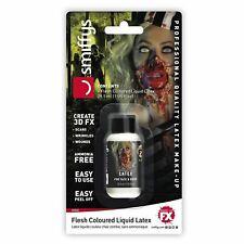 Halloween Zombie Liquid Latex Beige SFX Make Up Prosthetic Fancy Dress