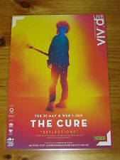 THE CURE - Reflections Australia - Sydney 2011 - Laminated Promo Tour Poster