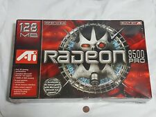 NEW (Read) ATI Radeon 9500 Pro 128 MB AGP 8X / 4X Bus PC Video Card SEALED
