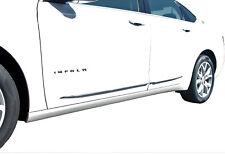 "2011-2017 Chevrolet Impala Chrome Streamline Bodyside Molding - 0.5"" width"