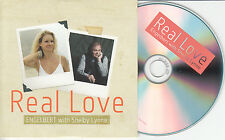 ENGLEBERT HUMPERDINCK ft SHELBY LYNNE Real Love UK promo test CD James Morrison
