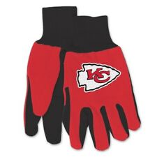 NFL Kansas City Chiefs - Adult Size: Two-Tone Sport Utility Gloves  New