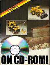 1970S TONKA & BUDDY L TIN VEHICLE CD-ROM TOY FAIR CATALOGS! GO-BOTS MACHINE MEN!