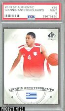 2013-14 SP Authentic #36 Giannis Antetokounmpo RC Rookie PSA 9 MINT
