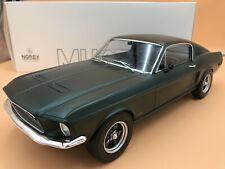 1/12 Ford Mustang Fastback satingrün 1968 NOREV 122702 NEUHEIT ! OVP !