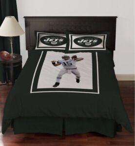 NFL Biggshots New York Jets Tim Tebow Bedding Comforter Set Twin w/carry Bag NEW