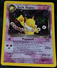 Holo Foil Dark Hypno # 9/82 Team Rocket Set Pokemon Trading Cards Rares HP