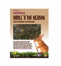 Naturals Nibble N Dig Meadow Rabbit Guinea Pig Degu Chinchilla Graze Tray
