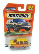 Matchbox MBX Superfast 1999 No 67 Ford Expedition gelb USA exlusiv Modell