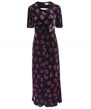 Rixo London Daisy Velvet Floral Dress Size L