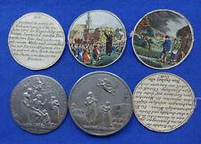 Nürnberg - Zinn Steckmedaille/Dosenmedaille  1817 (Stettner) - Not und Teuerung