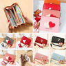 Women Long Clutch Faux Leather Wallet Card Holder Phone Bag Case Purse Handbag
