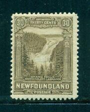 NEWFOUNDLAND 182 SG208 MH 1931 30c Grand Falls Labrador Wmk Coat of Arms Cat$45