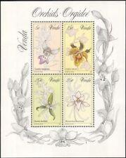 Venda 1981 Orchids/Plants/Flowers/Nature 4v m/s (b695)