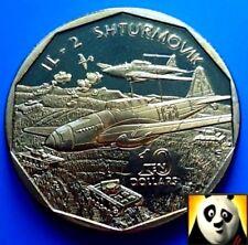 1991 MARSHALL ISLANDS $10 Ten Dollar IL-2 SHTURMOVIK Legendary Aircraft WW2 Coin