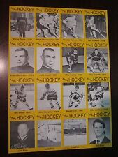 West Point Ice Hockey Collector Cards Poster 1993-94 Unique Very Good Condition