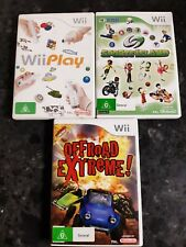 Offroad Extreme Nintendo Wii + sports island and wii play