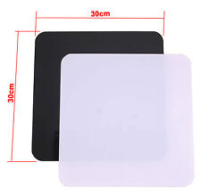 Photographic Shooting Table Black & White Reflective 30cm Square