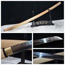 "Handmade 39.4"" Clay Tempered Japanese Samurai Katana sword Battle Ready Sharp"