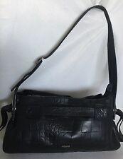 64f95fbbc495b PICARD Germany Black Leather Shoulder Bag   Handbag