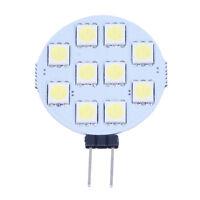H3C7 5 X G4 Pure White 10 5050 SMD LED Spot Light Lamp Bulb DC 12V