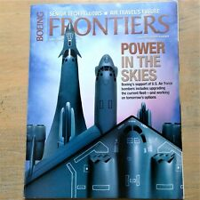 Boeing Frontiers Magazine April 2004 U. S. Air Force Power In The Skies
