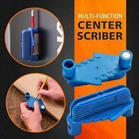 Multi-function Center Finder Scriber Carpentry Woodworking Marking Gauge Tool