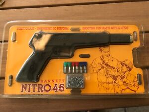 Rare  Barnett model Nitro 45 .177 cal  push-in barrel air pistol made in the UK