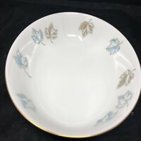 """Vintage Franciscan Earthenware, 9"""" oval bowl, Gladding McBean & CO MCM Leaves"""